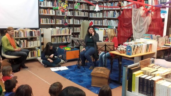 Χριστούγεννα στην Βιβλιοθήκη